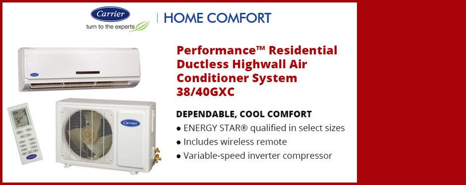 Carrier Ductless Air Conditioning